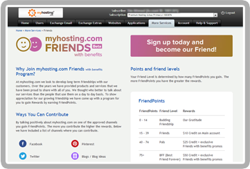 Friends with Benefits - myhosting com