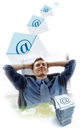 myhosting.com Hosted Exchange Email provides you with various ways of handling multiple email accounts