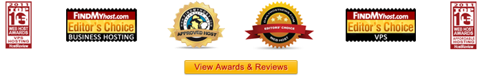 myhosting.com Hosting Awards and Reviews