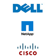 dell, cisco, netapp