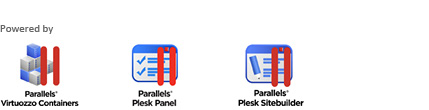 parallels virtuozzo containers, plesk panel, plesk sitebuilder